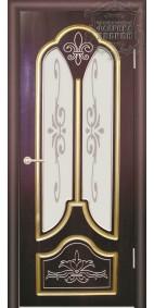 Межкомнатная дверь ДО Александрия с патиной №2