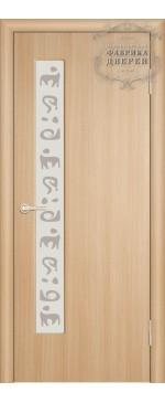 Межкомнатная дверь ДО М8 со смещ. правая