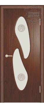 Межкомнатная дверь ДО Инь-Янь правая