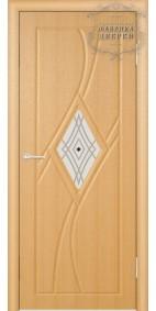 Межкомнатная дверь ДО Кристалл (правая)