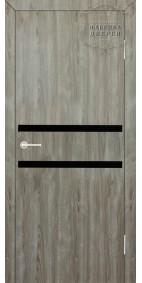 Межкомнатная дверь ДО Лайт 2 (черное)