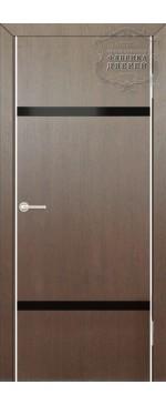 Межкомнатная дверь ДО Лайт 4 (черное)