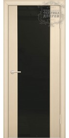 Межкомнатная дверь ДО стиль полное (черное)