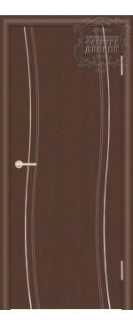 Межкомнатная дверь ДГ Сириус с молдингом