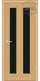 Межкомнатная дверь ДО Люкс 1 (черное)