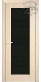 Межкомнатная дверь ДО Люкс 2 (черное)