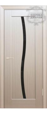 Межкомнатная дверь ДО Люкс 3 (черное)