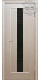 Межкомнатная дверь ДО Люкс 4 (черное)