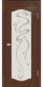 Межкомнатная дверь ДО Люкс 5 с рис.Абстракция