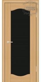 Межкомнатная дверь ДО Люкс 5 (черное)