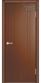 Межкомнатная дверь ДГ Стиль 2 узких линии