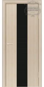 Межкомнатная дверь ДО Стиль 3 (черное)