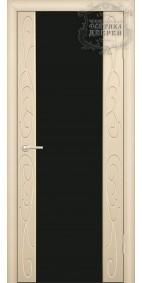 Межкомнатная дверь ДО стиль Фиеста (черное)